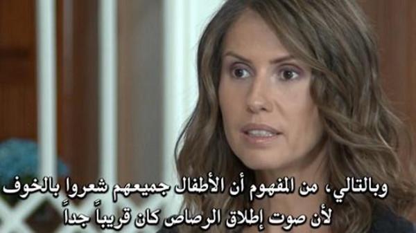 اسماء الاسد : كنتُ واطفالي قريبين جداً من اطلاق النار عند تفجير مقر وزارة الدفاع