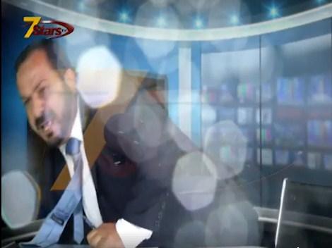 بالفيديو  ..  شجار على الهواء و تراشق بالمياه بين الناطق الاعلامي لنقابة المعلمين و أحد الصحفيين