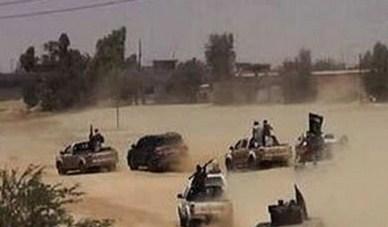 """ضبط 9 مركبات اردنية مع عصابة """"داعش"""" بالعراق"""