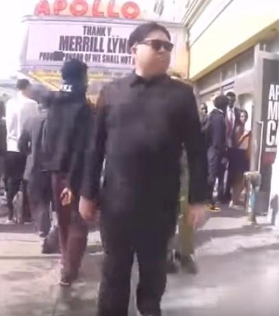 مقلب زعيم كوريا الشمالية كيم جونغ يتجول في شوارع أمريكا
