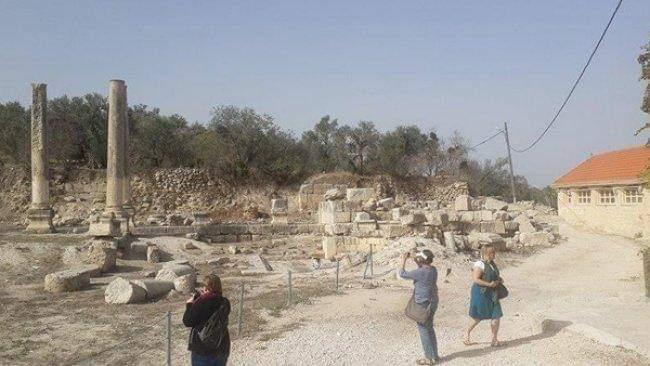 قوات الاحتلال الإسرائيلي تقتحم موقعا أثريا شمال الضفة الغربية