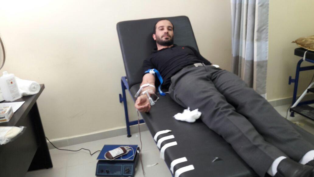 الطفايلة يتبرعون بالدم لصالح مستشفى الملكة رانيا بالبترا... صور