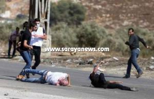"""عاجل ..  بالصور ..  عشرات الإصابات في جمعة """"الغضب الفلسطيني"""" الثانية"""