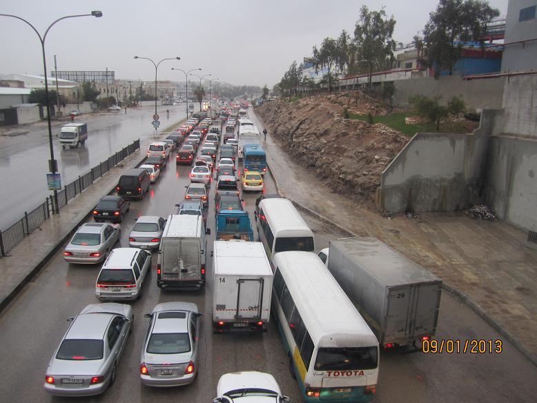امطار الخير غرق شوارع في عمان وانغاف Image