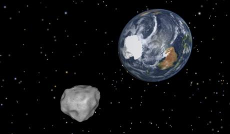 كويكب يقترب من الارض بمسافة غير مسبوقة