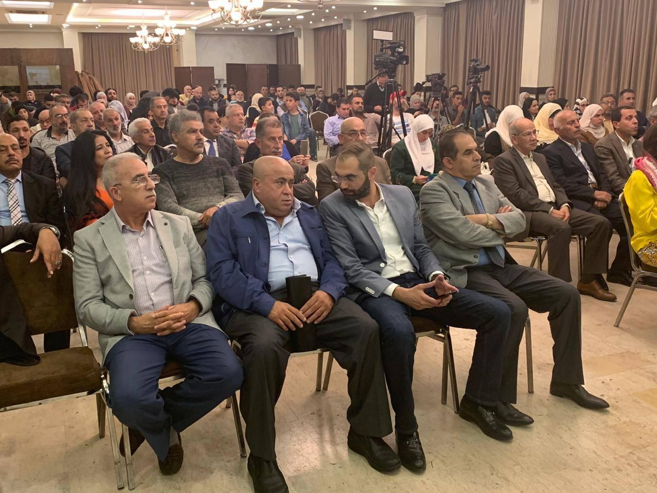 """النائب خليل عطية: هبة لم تستطع إكمال كلمتها في """"الحفل الشعبي"""" بمجمع النقابات"""