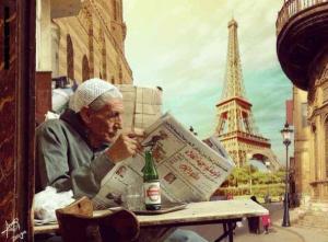 """صور تظهر برج إيفل ومتحف """"اللوفر"""" في مصر ..  حقيقة أم خيال؟"""