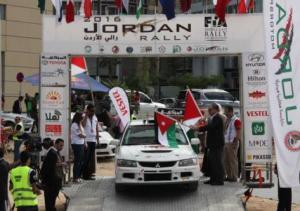 العطية ينهي المرحلة الخاصة برالي الأردن أولا