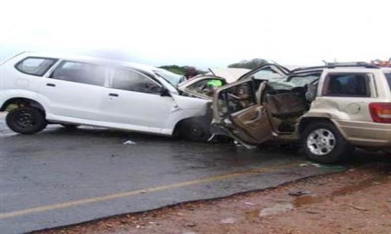 الكرك: ٧ اصابات بحادث تصادم بين مركبتين