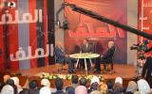 التلفزيون الأردني يسجل حلقة برنامج الملف من جامعة عمان الأهلية