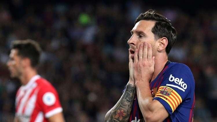 برشلونة يتعثر على أرضه وبين جماهيره