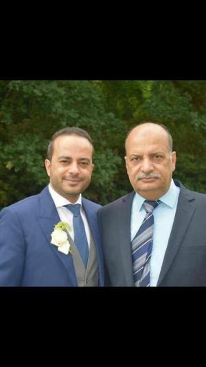 الدكتور حازم الزيود مبارك الخطوبة