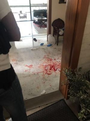 بالصور  ..  لبنان : عاملة اثيوبية تذبح مخدوميها في الرابية