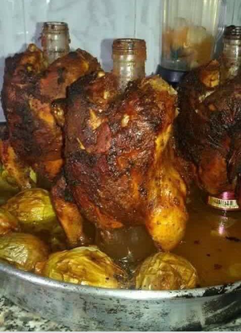 دجاج القناني