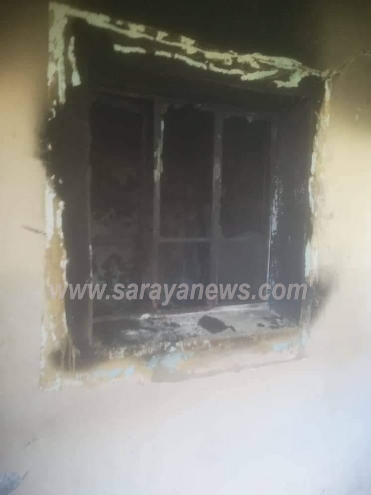 بالصور .. عامل الوطن الذي تعرض منزله للحريق يروي لسرايا تفاصيل الحادث الأليم ويناشد اهل الخير