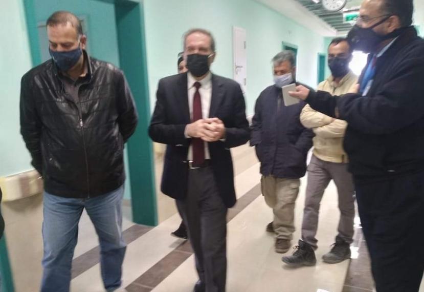 الهواري يتفقد مستشفى حمزة
