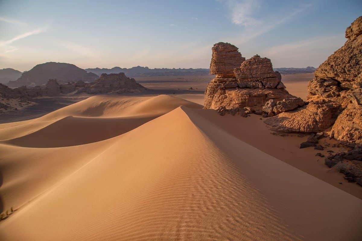 الصحراء في المنام لابن سيرين