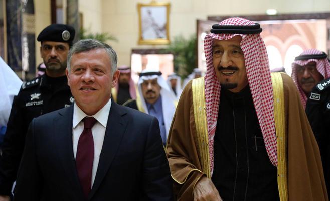 """الملك سلمان : """"لولا البروتوكول"""" ما احتجنا سفارة في الأردن"""