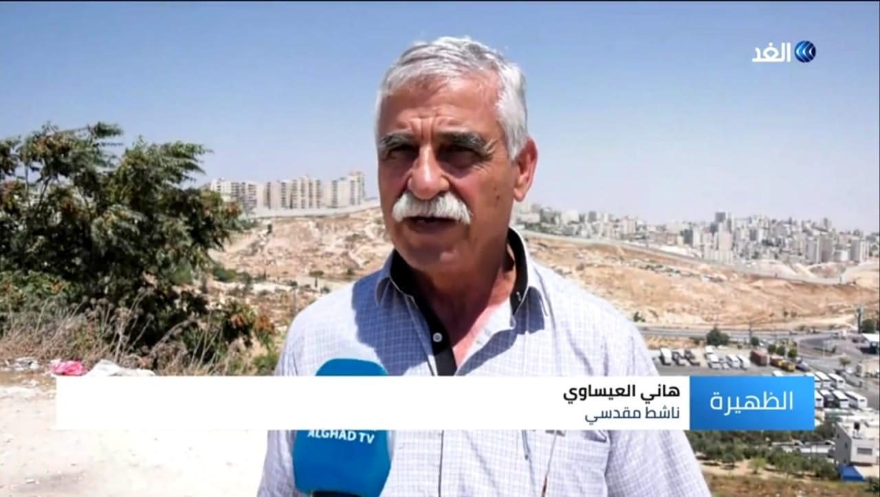 ناشط مقدسي: أهالي بلدة العيسوية يطلقون صرخاتهم لمواجهة وحشية الاحتلال