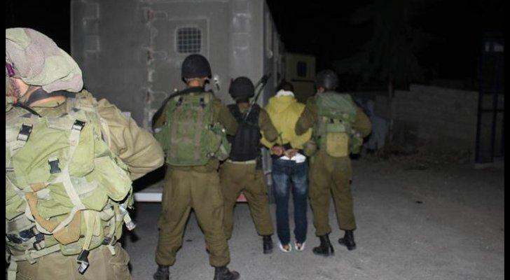 قوات الاحتلال تعتقل خمسة شبان من العيساوية في القدس