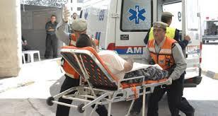 إصابة شخصين اثر حادث تصادم بالمفرق