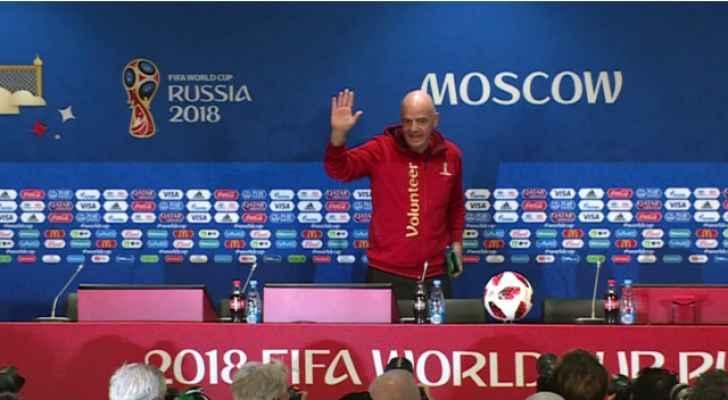 """رئيس """"الفيفا"""": إمكانية مشاركة 48 منتخب في مونديال قطر 2022 تبحث قريبا"""