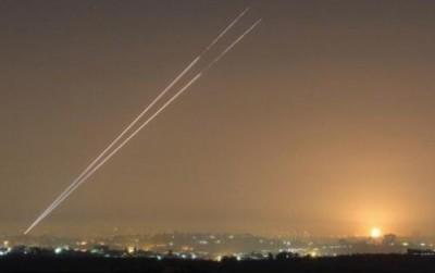 اطلاق 6 صواريخ جراد وعدة قذائف اخرى محلية الصنع باتجاه المستوطنات