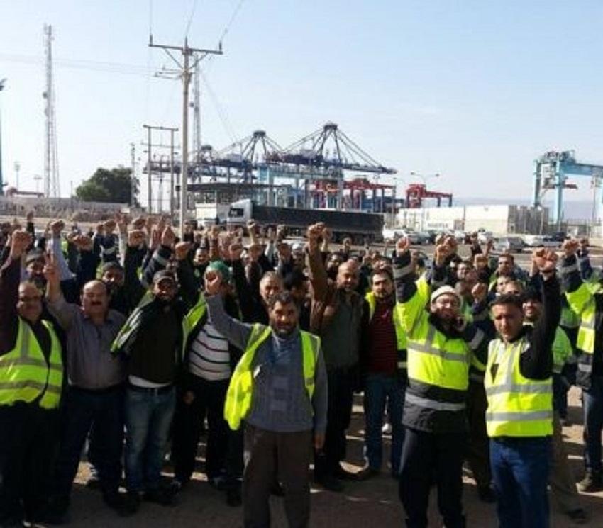 """عمال موانئ العقبة يطالبون تلبية مطالبهم الوظيفية  ..  """"تفاصيل"""""""