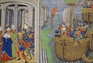 العثور على بقايا سفينة حربية بريطانية عمرها 600 عام
