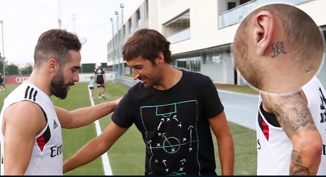 بالفيديو .. معاني الأوشام الموجودة على جسد سيرجيو راموس