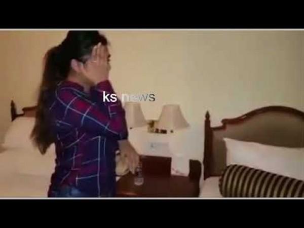 بالفيديو .. لحظة القبض على ممثلة هندية أثناء ممارستها الدعارة