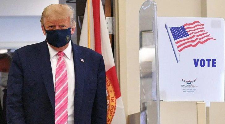 ترمب يدلي بصوته مبكرا في الانتخابات الرئاسية الأمريكية