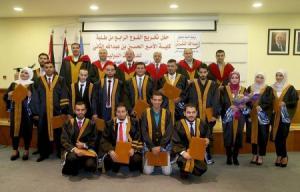 """""""الأردنية"""" تحتفي بتخريج طلبة الفوج الرابع من كلية الأمير الحسين بن عبدالله الثاني"""