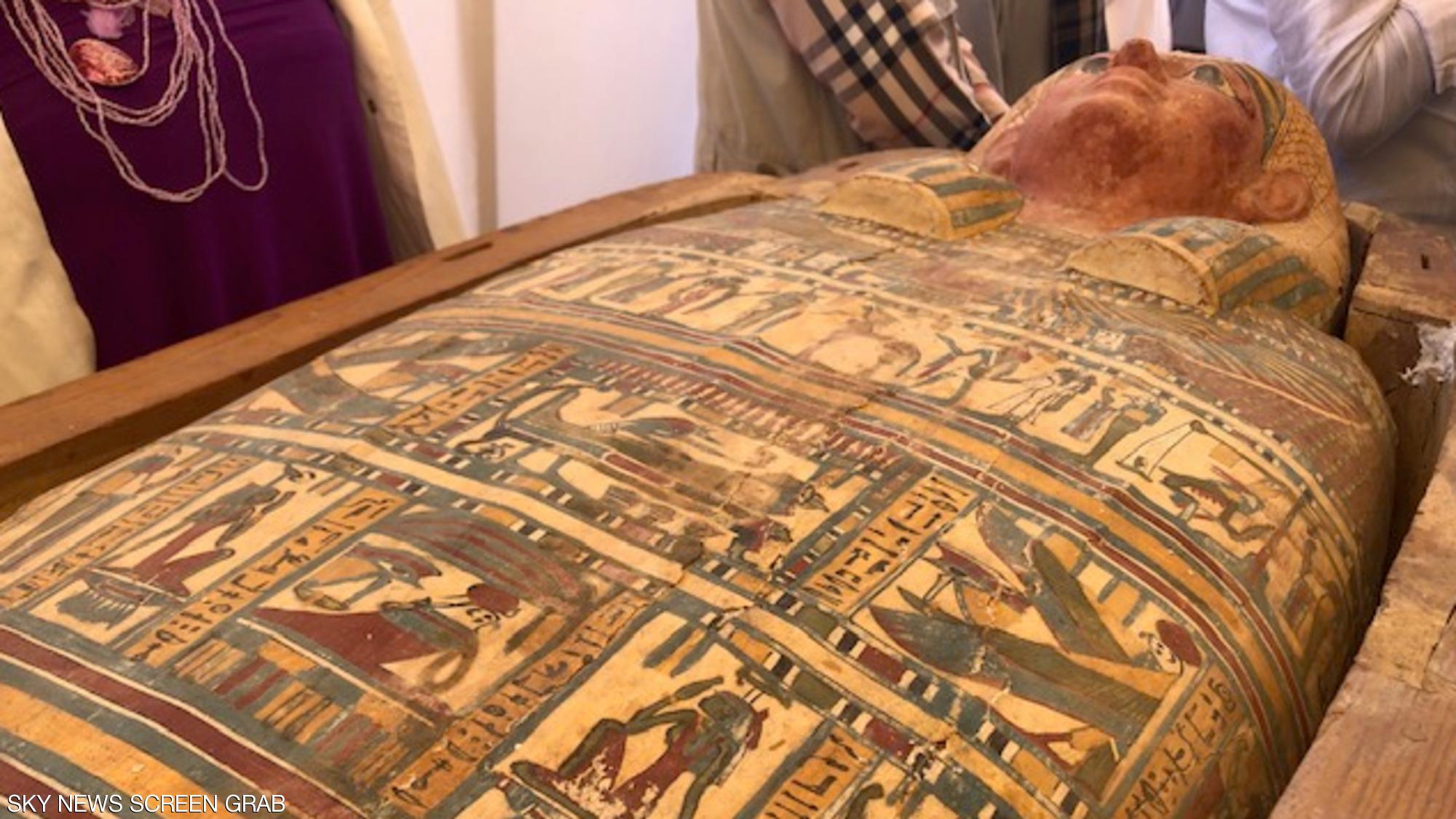 بالصور ..  كشف أثري فرعوني بالأقصر يعود إلى 3500 عام
