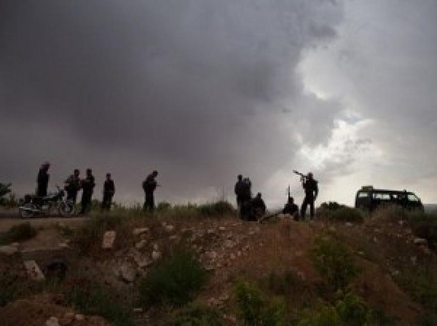 القبض على مسلحين سوريين في الرمثا