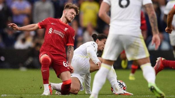لاعب ليفربول الشاب يسامح من تسبب له بالكسر برسالة مؤثرة