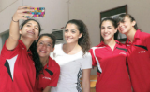 بطولة الأردن الدولية بكرة الطاولة تدخل مراحل الحسم
