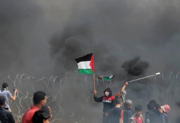 إصابة 240 مواطناً برصاص الاحتلال بينهم إصابات خطيرة لمسعفة وطفل شرقي قطاع غزة