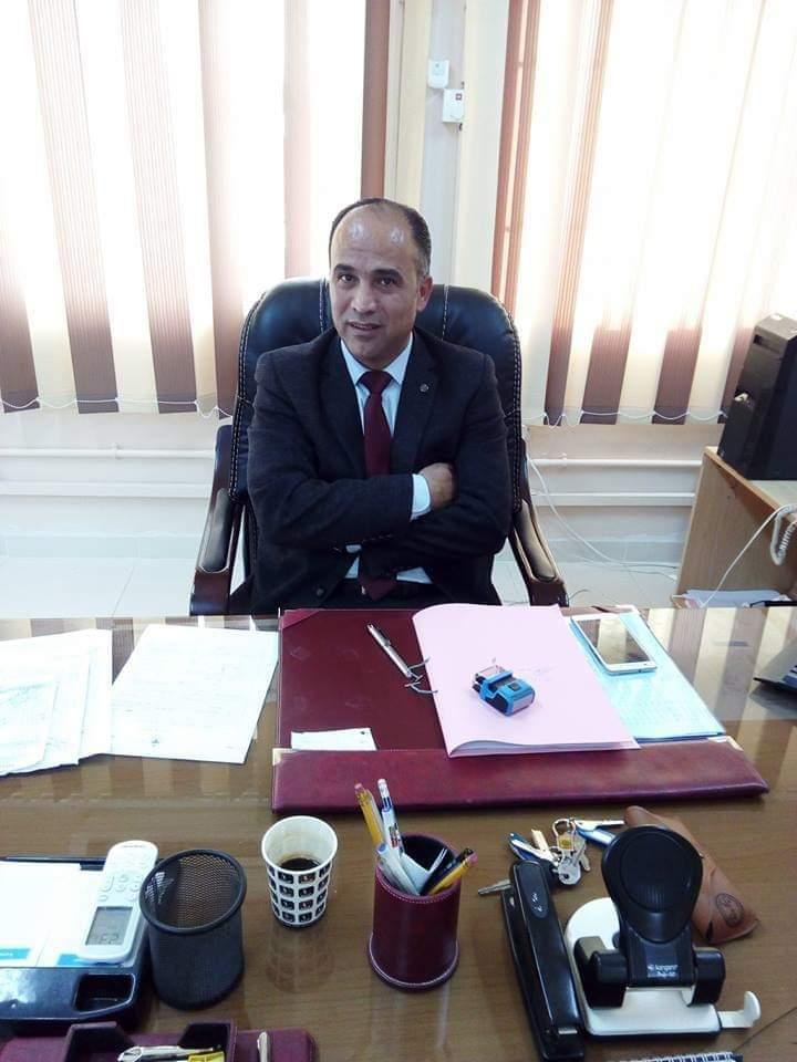 الدكتور عثمان بني يونس مبارك المنصب الجديد