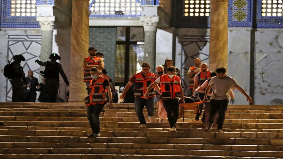الأردن: الأوضاع الخطيرة في الأراضي الفلسطينية أظهرت بوضوح استحالة استمرار الوضع القائم