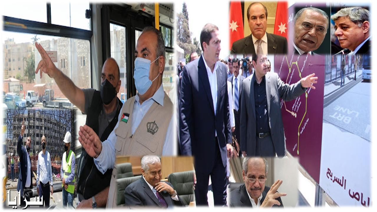 """""""عابر لـ8 رؤساء وزراء""""  ..  الباص السريع  بدأ قبل 11 عاماً  فمتى سينتهي بمرحلته الأخيرة و على عهد من؟  ..  أسماء"""