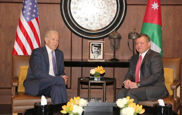 قمة اردنية امريكية في تموز على اجندتها قانون قيصر