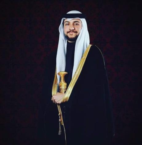 في عيد ميلاد سمو الأمير الحسين بن عبد الله/ ولي العهد.