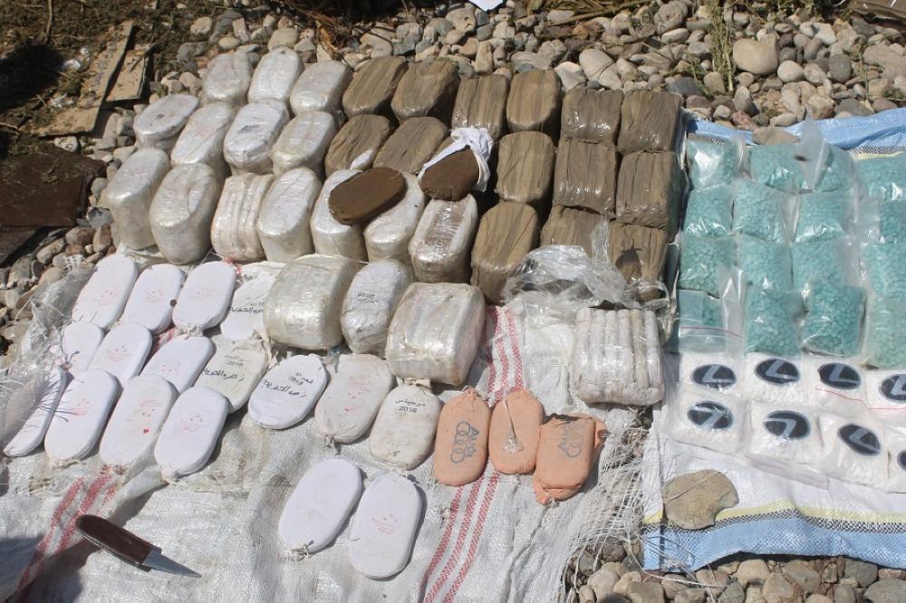 إتلاف كميات من المواد المخدرة تورط فيها ٢١٣ أردنيا