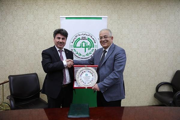 """بحث التعاون المشترك بين """"الزيتونة الأردنية"""" و""""كيليس التركية"""""""