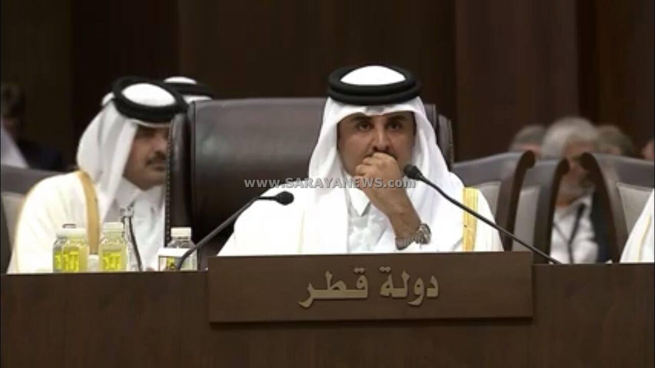 امير قطر: يجب اجبار اسرائيل الامتثال للشرعية الدولية.. ولا خلافات تستعصي على الاشقاء العرب