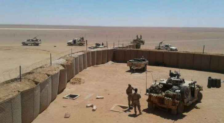 بالفيديو ..  تدريبات عسكرية أمريكية نادرة قرب الحدود الأردنية