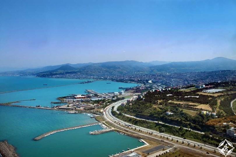 بالصور .. سامسون أكبر مدينة على ساحل البحر الأسود التركي