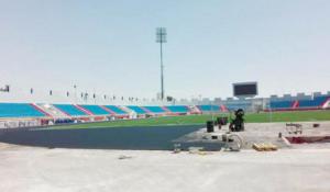 مدينة الأمير محمد تستكمل الصالة الرياضية وتستبدل المضمار