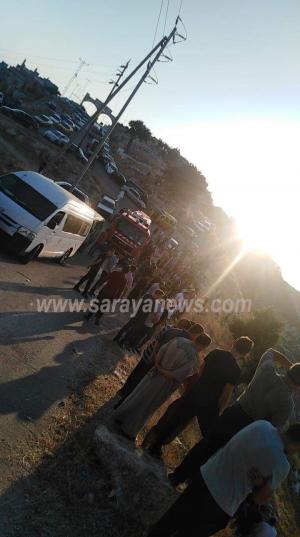 بالصور ..  اربد : وفاة سيدة وإصابة (6) آخرون بحادث تدهور مركبة في لواء بني كنانه
